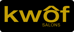 Kwof Professional Finishing iron Logo